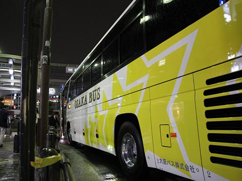 大阪バス「東京特急ニュースター号」 ・・33 布施駅改札中 その2