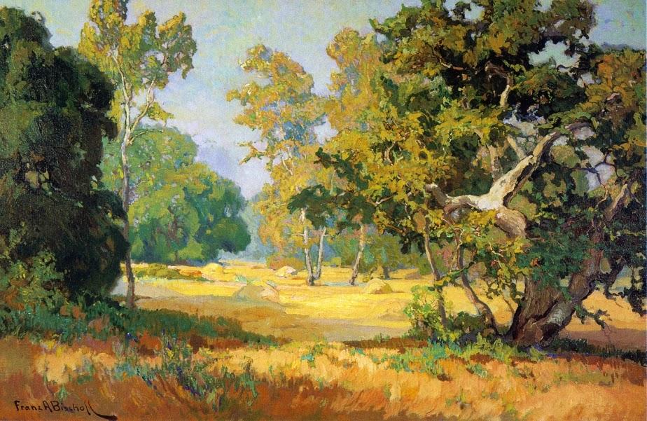 Franz Bischoff - Summer Days, California Woodlands