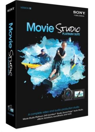moviestudio Download   Sony Movie Studio Platinum 12 Suite   12.0.333 x86 + x64 + Serial (2012)