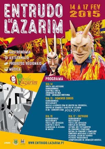 Programa - Entrudo de Lazarim - Lamego - 14 a 17 de Fevereiro de 2015