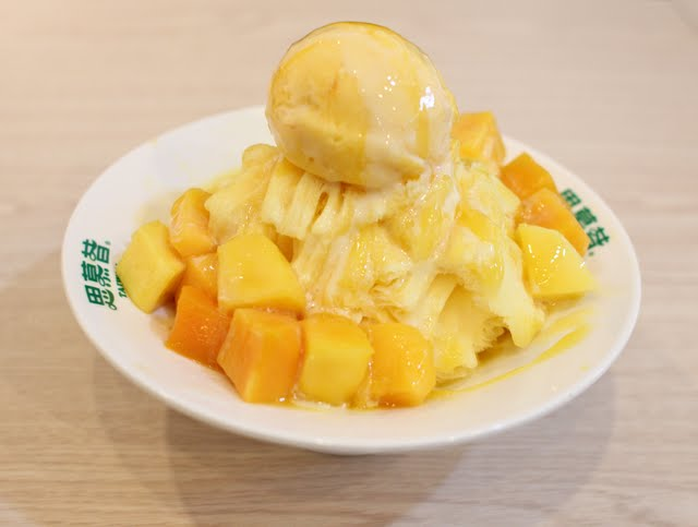 Snowflake Shaved Ice (Taiwan)