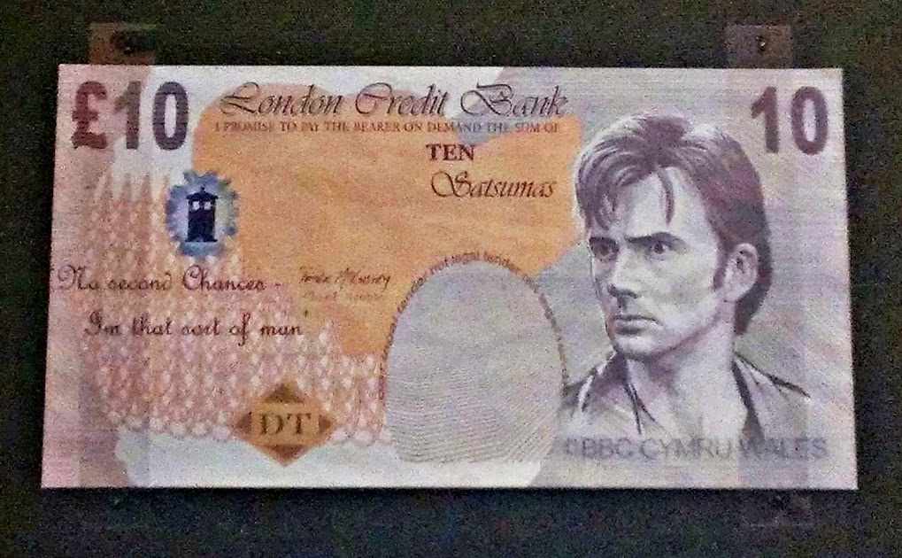 Doctor Who £10 note