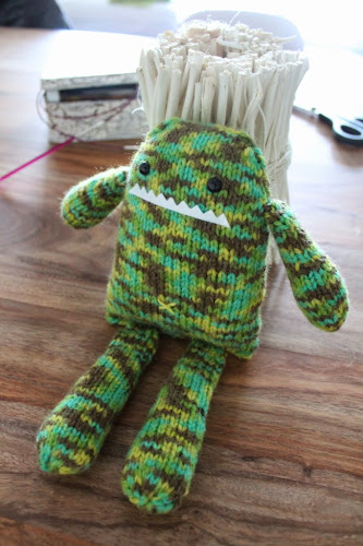 Not 2 late to craft: Amigurumi... de punt!!! / Amigurumi... yes, but knitted!!!