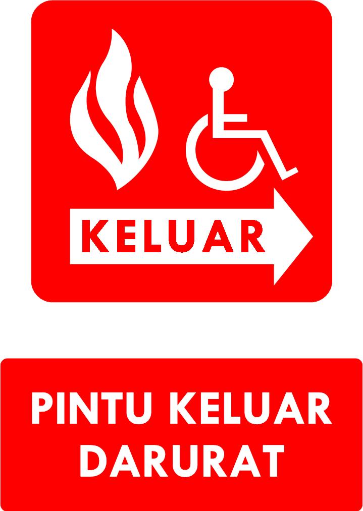 Rambu Pintu Keluar Darurat (DDA)