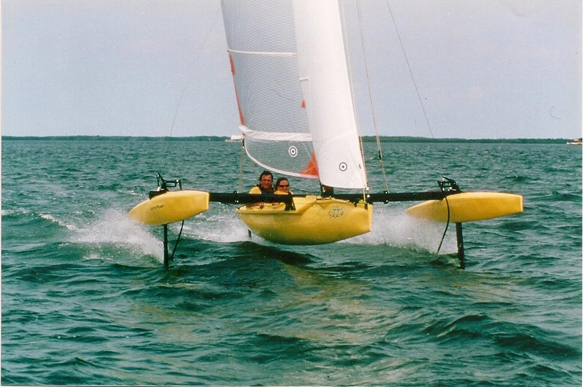 Kayak Top Speed Windrider Rave Top Speed 37