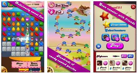 Candy Crush Saga App voor Android, iPhone en iPad