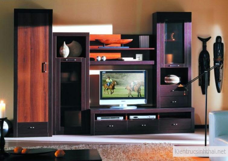 Mẫu thiết kế tủ tivi đẹp