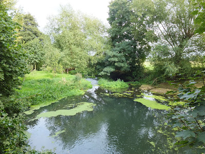 Millpond near Weybread House, Harleston