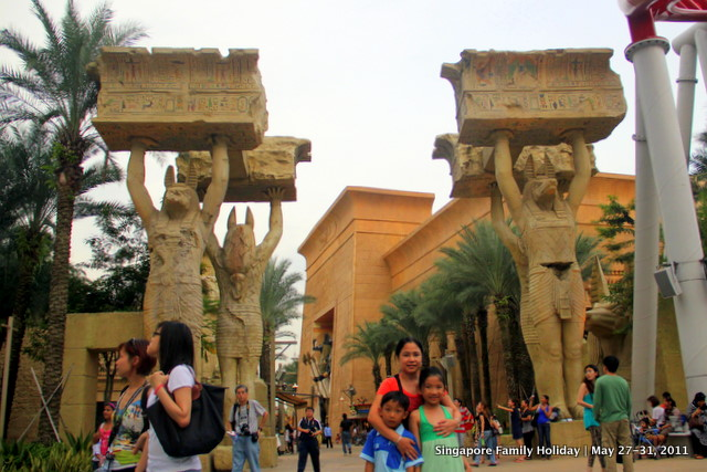 Ancient Egypt, Universal Studios Singapore