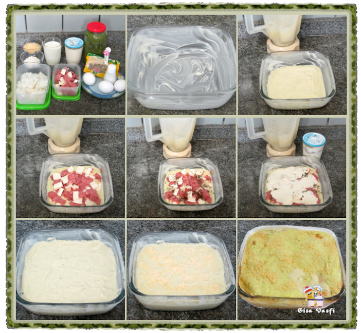 Torta de arroz e requeijão 2