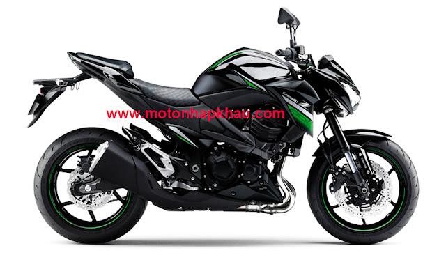 Kawasaki Z800 ABS 2016 Xanh Đen