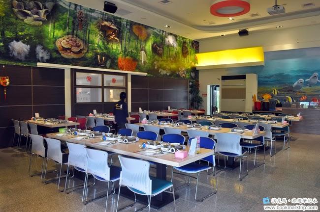 魔菇部落生態休閒農場餐廳內部一覽