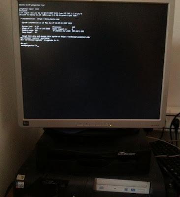 Escenario de trabajo para convertir máquina física Linux a virtual en ESXi