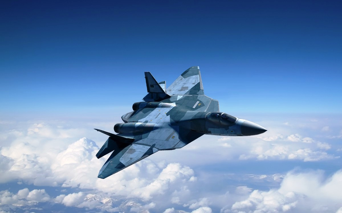 Sukhoi T-50 Jet Fighter Wallpaper 3
