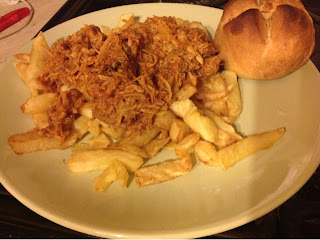 Image Copyright Miss Mamo's World - Pulled BBQ Pork, Chips & Crusty Bread