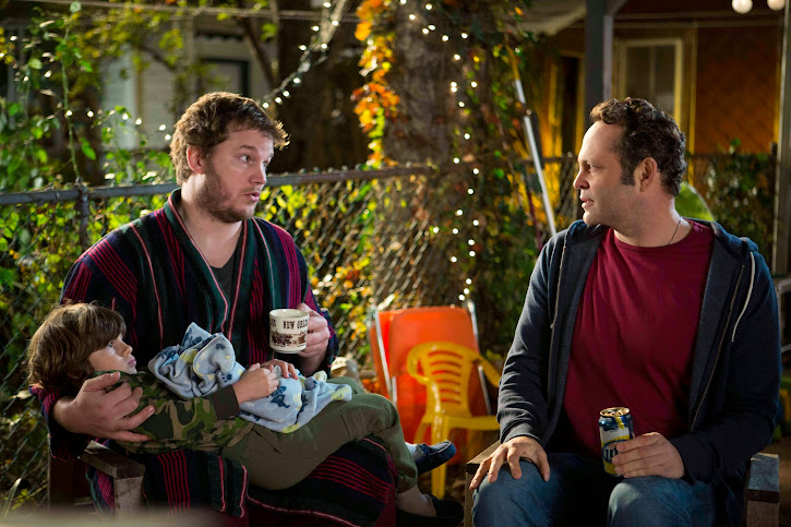Vince Vaughn and Chris Pratt in DreamWorks Delivery Man #DeliveryManEvent