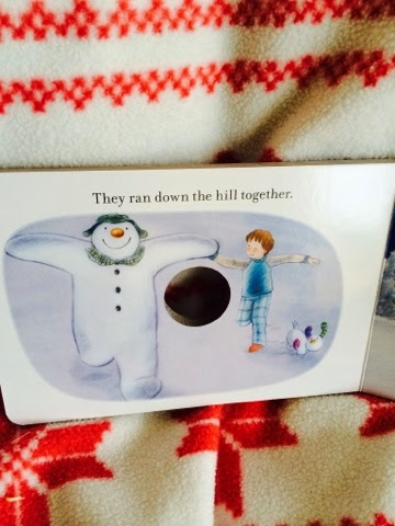 The Snowman Puppet Book