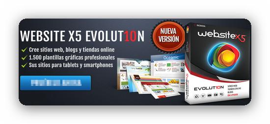 Incomedia WebSite X5 Evolution 10.0.6.31 [Multi] – Creando páginas web