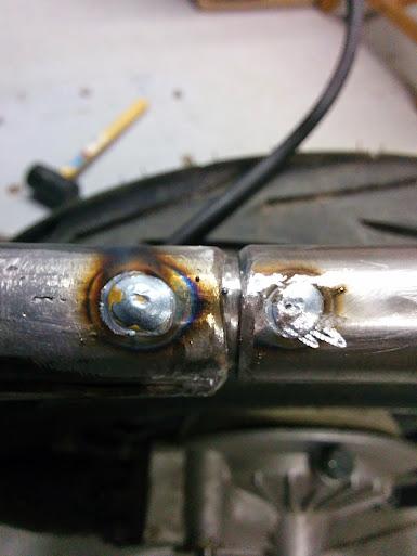 plug welds
