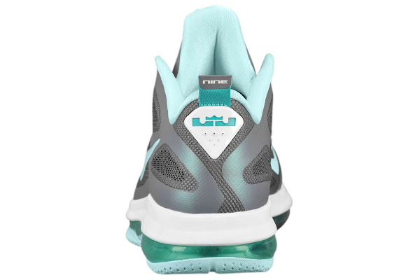 LeBron 9 Low Samples 8211 Easter Cyber Hornets 8211 Heel Pull Tab
