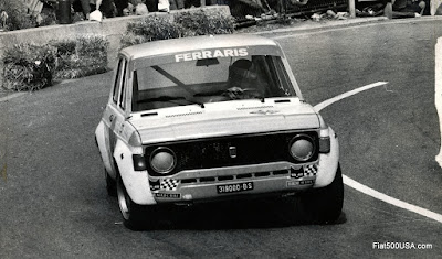 Fiat 128 prepared by Ferraris