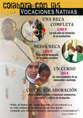 Vocaciones Nativas 2014