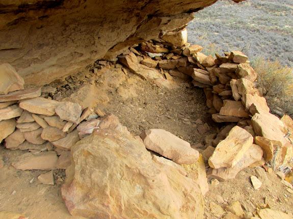 Rock shelter at Redman Village