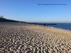 Arka SPA Kołobrzeg -na zdjęciu plaża w pobliżu hotelu