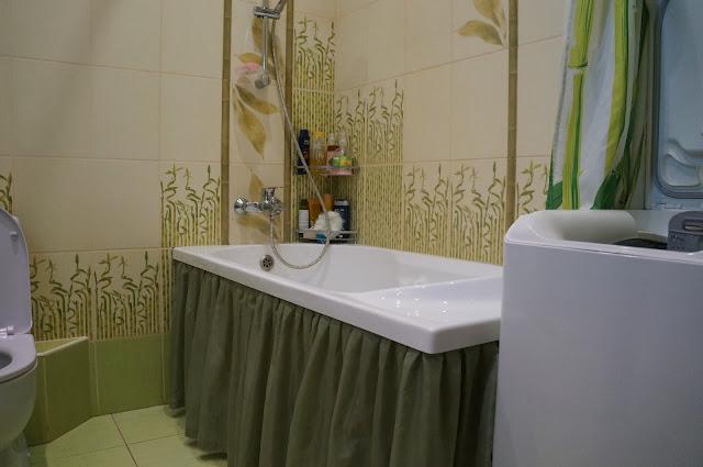 Шторка в ванной и душе своими руками фото 107