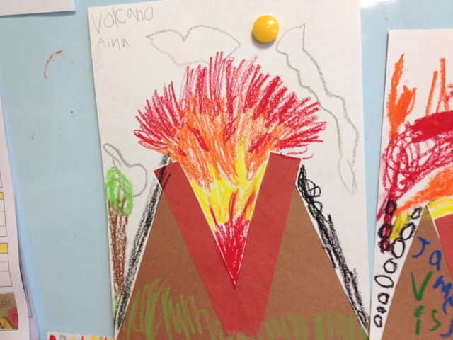 Alphabet Letter Craft V Is For Volcano Color Me Sweet