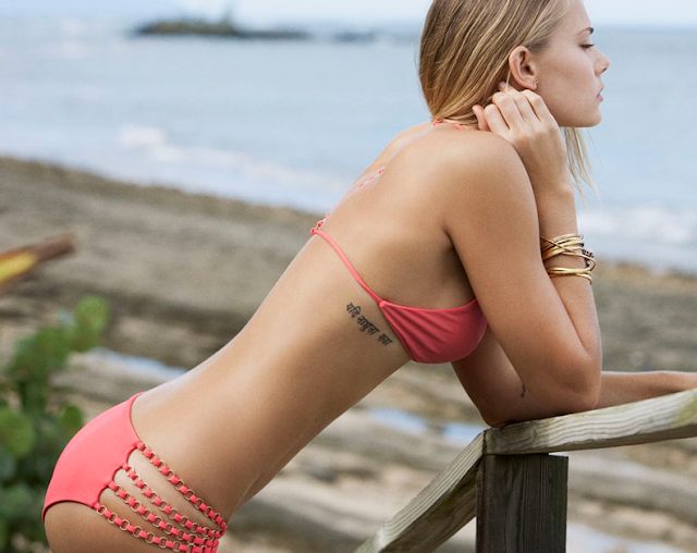 Gorge bikini x not so gorge tan line?
