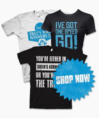 charlie sheen winning t shirt. buy Charlie Sheen t-shirts