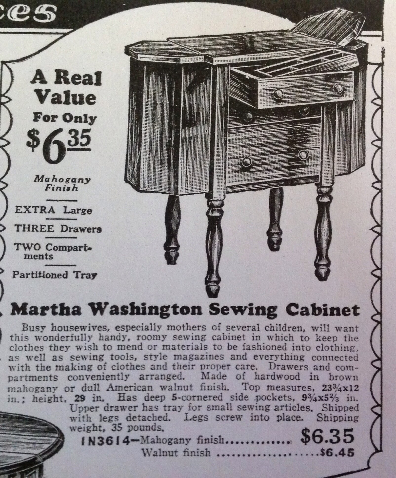 Threading Along: A Martha Washington sewing cabinet