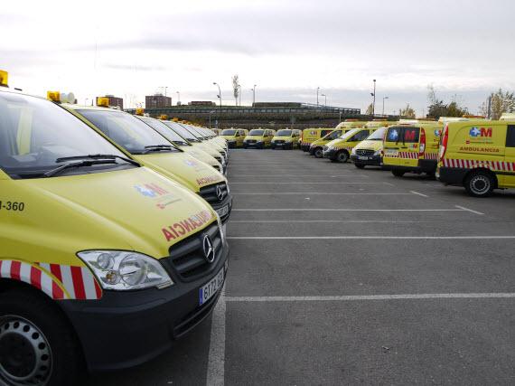 Nueva flota de vehículos de urgencias en domicilio del SUMMA 112