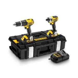 Buy DEWALT DCK285L2 18V XR Li-Ion Combi Drill + Impact Driver