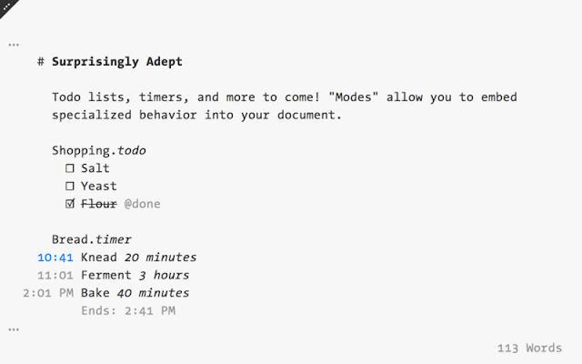 FoldingText: Versatile Markdown Text Editor for OS X