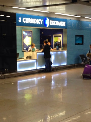 Currency Exchange At Dublin Airport