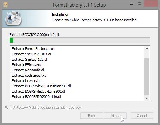 ติดตั้ง Format Factory แบบไม่มีของแถมพ่วงท้ายมาให้รำคาญใจ Ffset04