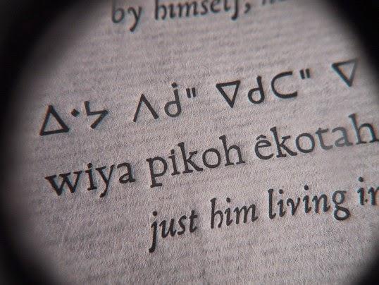 Miao script developed by Samuel Pollard written with Cree syllabary