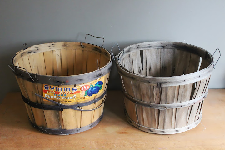 Medium bushel baskets available for rent from www.momentarilyyours.com, $3.00