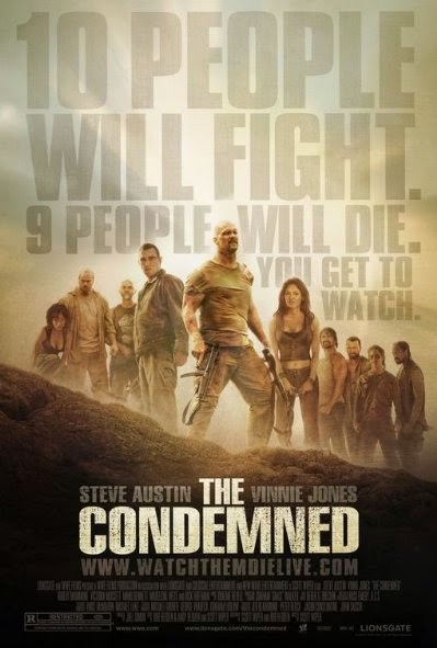 Poster Of The Condemned (2007) Full Movie Hindi Dubbed Free Download Watch Online At Alldownloads4u.Com