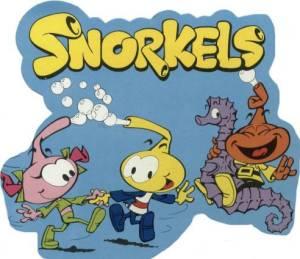 Bruselas Valonia: Los Snorkels, dibujos animados muy famosos en los años 80