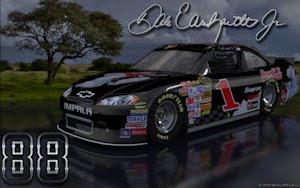 Dale Earnhardt Jr Coke Bear Retro 2 Outdoor