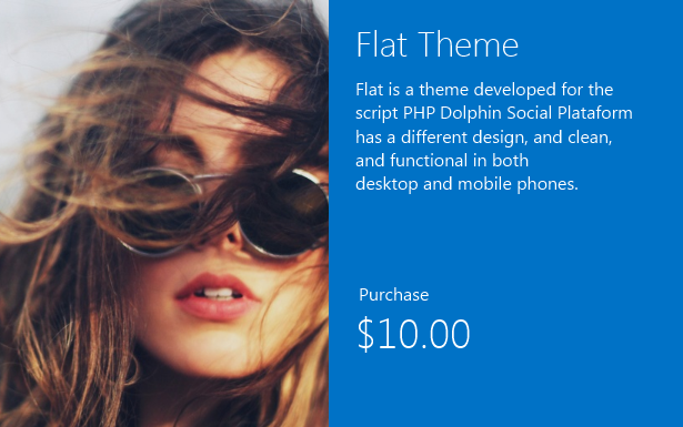Flat Theme For phpDolphin - 2