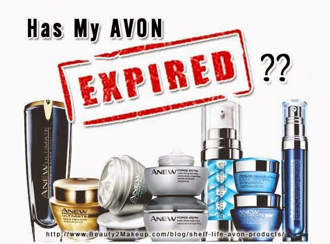 Avon Product Epiration Dates