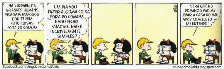 Clube da Mafalda: Tirinha 576