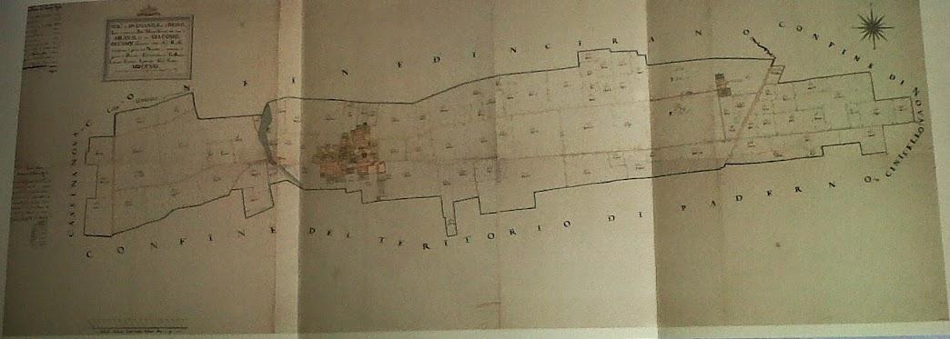 Cartina di Paderno