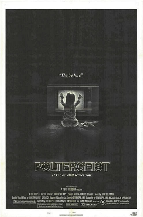 Poster Of Poltergeist (1982) Full Movie Hindi Dubbed Free Download Watch Online At Alldownloads4u.Com