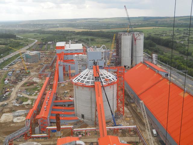 фото: Подгоренка, Подгоренский цементный завод, Евроцемент, Новый цементный завод, FLSmidth