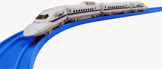 Tàu hỏa AS -07 Shinkansen 700 cỡ nhỏ với thiết kế sinh động như thật